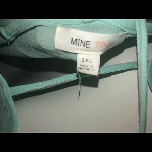 Mine Too Tops - 3XL Women's Plus Size Top